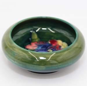 Moorcroft Green Pin Dish