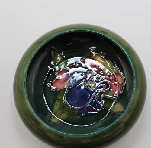 Moorcroft Green Pin Dish image-4