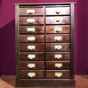 Edwardian Filing Cabinet