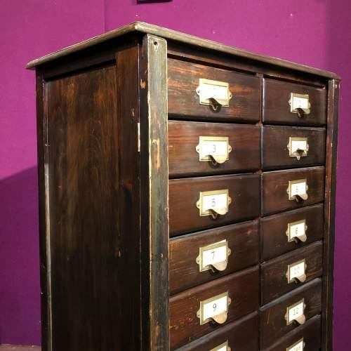 Edwardian Filing Cabinet image-3