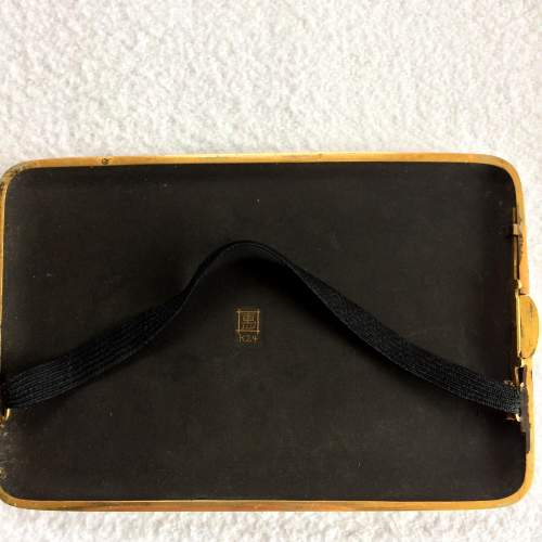 A Japanese Taisho Period Gilded Mixed Metal Case image-6