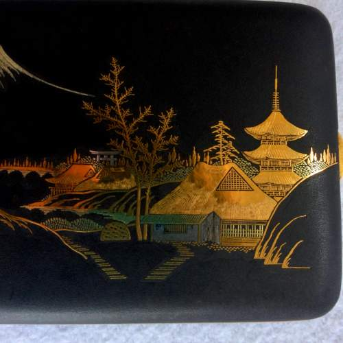 A Japanese Taisho Period Gilded Mixed Metal Case image-3