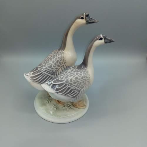 Rare Royal Copenhagen Chinese Geese image-1