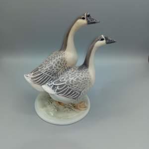 Rare Royal Copenhagen Chinese Geese