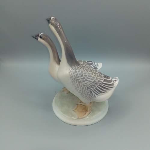 Rare Royal Copenhagen Chinese Geese image-3