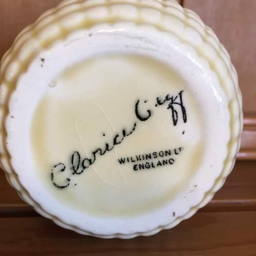 Clarice Cliff  Sweet Corn Preserve Pot image-3