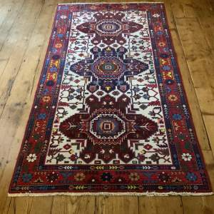 Stunning Hand Knotted Caucuses Rug Shirvan Superb Quality