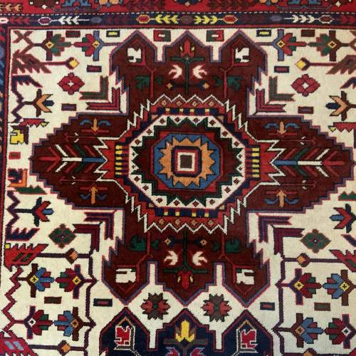 Stunning Hand Knotted Caucuses Rug Shirvan Superb Quality image-3