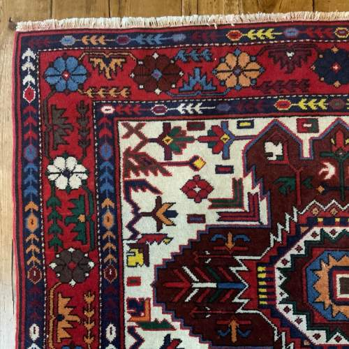 Stunning Hand Knotted Caucuses Rug Shirvan Superb Quality image-4
