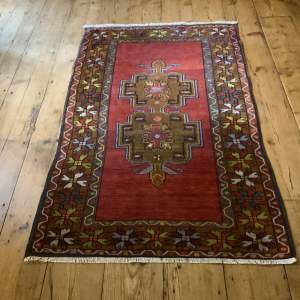 Superb Quality Hand Knotted Turkish Rug Yuruk Nice Abrash