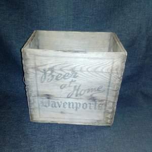 Davenports Beer Crate