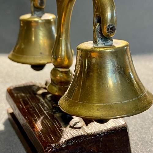Set of Mounted Vintage Shire Horse Bells image-3