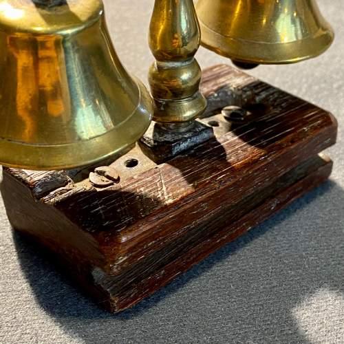 Set of Mounted Vintage Shire Horse Bells image-4