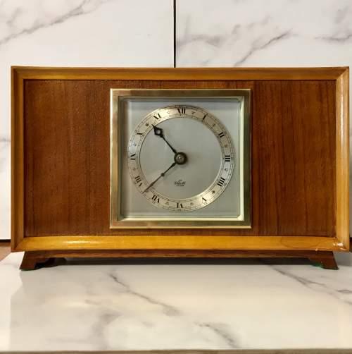 8 Day Clock made by Elliott of London Circa 1960 image-1