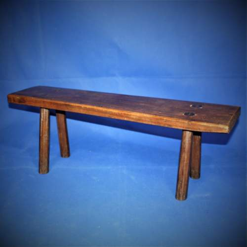 Country Made Footstool image-1