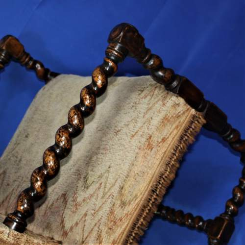 Early 20th Century Bobbin Turned Chair in the 17th Century Style image-6