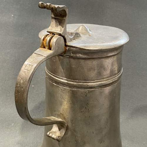 Mid 18th Century Pewter Table Flagon image-2
