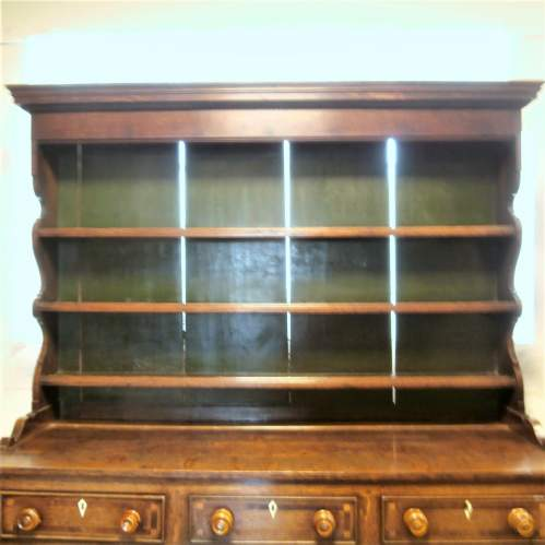 18th Century George III Oak Kitchen Dresser image-2