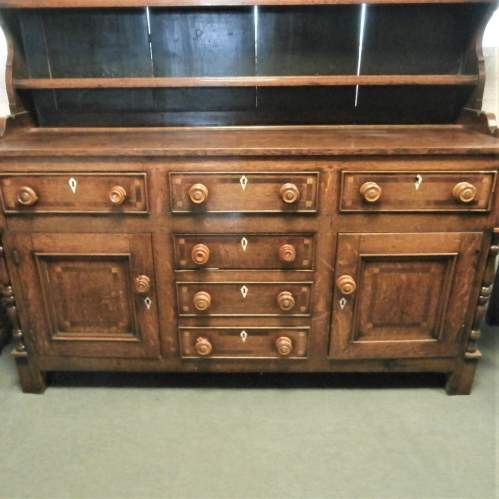 18th Century George III Oak Kitchen Dresser image-3