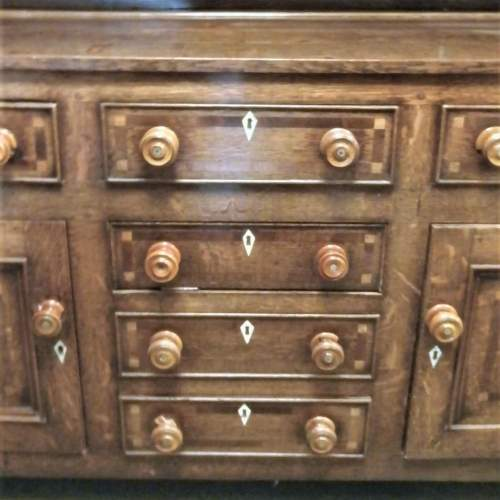 18th Century George III Oak Kitchen Dresser image-4