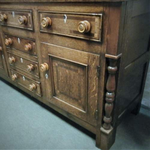18th Century George III Oak Kitchen Dresser image-5