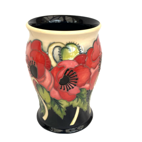 Moorcroft Pottery Limited Edition Vase in the Yeats Pattern image-1