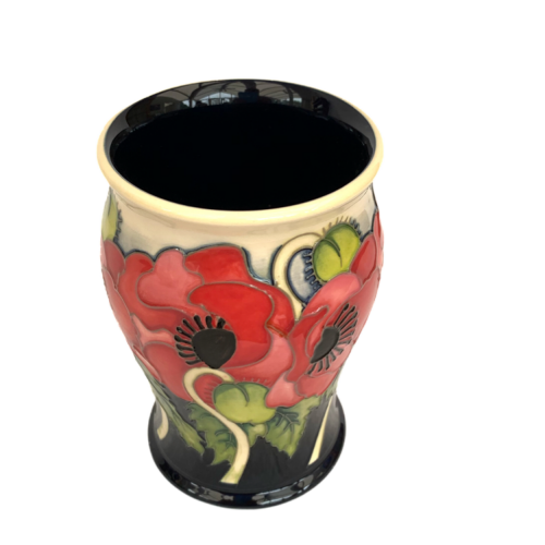 Moorcroft Pottery Limited Edition Vase in the Yeats Pattern image-3