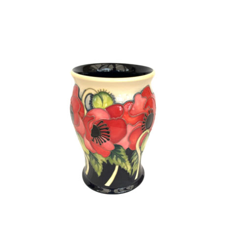 Moorcroft Pottery Limited Edition Vase in the Yeats Pattern image-4
