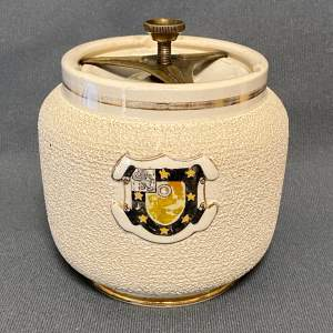 Victorian Macintyre Stoneware Tobacco Jar