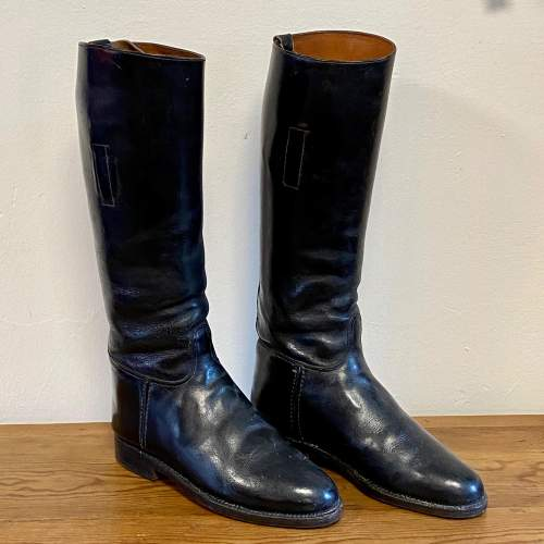Vintage Pair of Ladies Riding Boots image-1