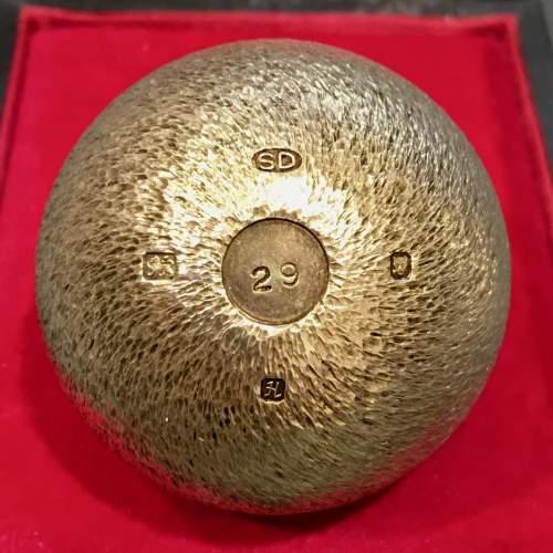Stuart Devlin Gilt Surprise Egg Four and Twenty Blackbirds image-4