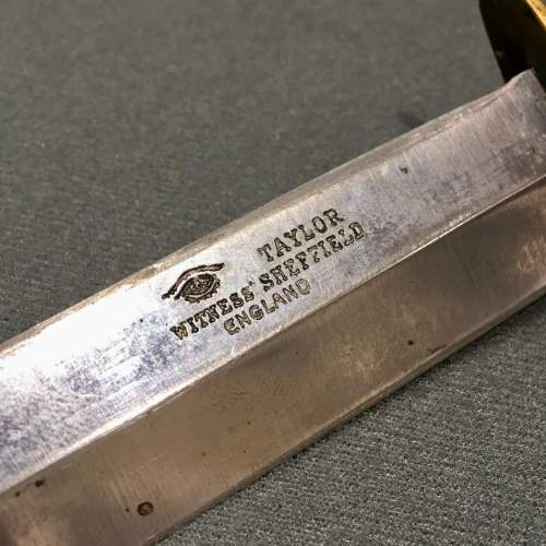 WWII Fighting Knife Taylor Eye Witness image-5