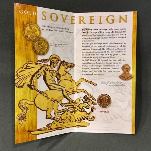 Queen Elizabeth II 2000 Gold Full Sovereign image-2