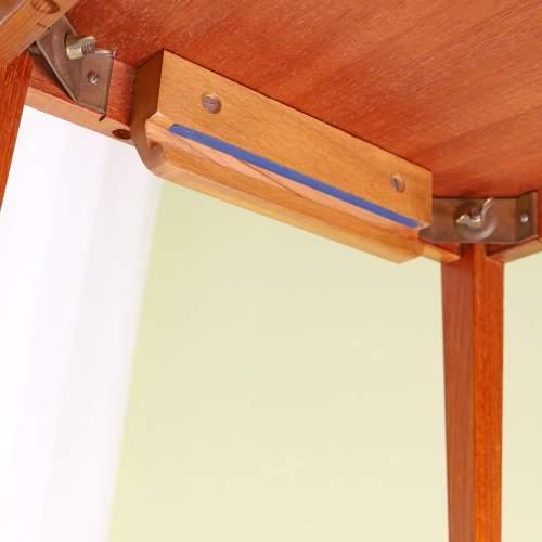 Kvalitet Form Funktion 1960s Nest of Tiled Teak Tables image-5