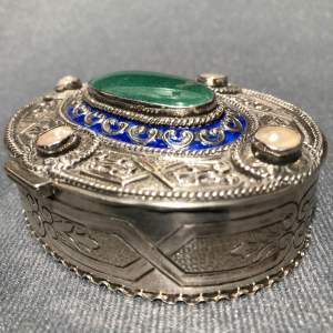 German Silver Arts and Crafts Box