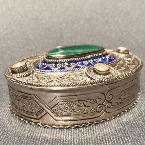 German Silver Arts and Crafts Box image-4