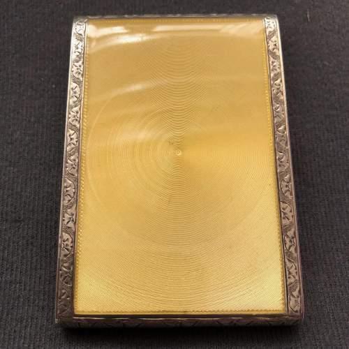 20th Century Fine Sterling Silver and Enamel Cigarette Case image-4