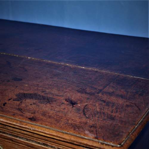 A Good Early Oak Splitter Chest of Drawers image-6