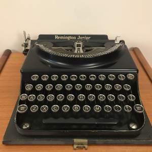 A Junior Remington Typewriter