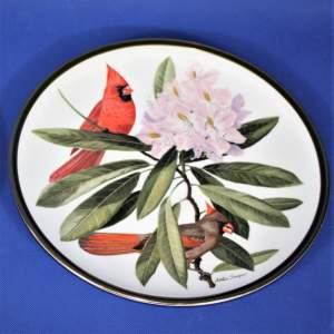 Set of 12 National Audubon Society Franklin Porcelain by Wedgwood