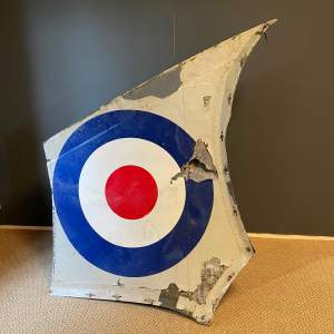 20th Century RAF Helicopter Tail Fin