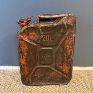 Mid 20th Century Saxon Oil Can