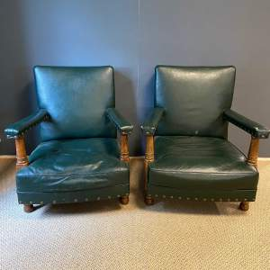 A Pair of RAF Mess Office Chairs