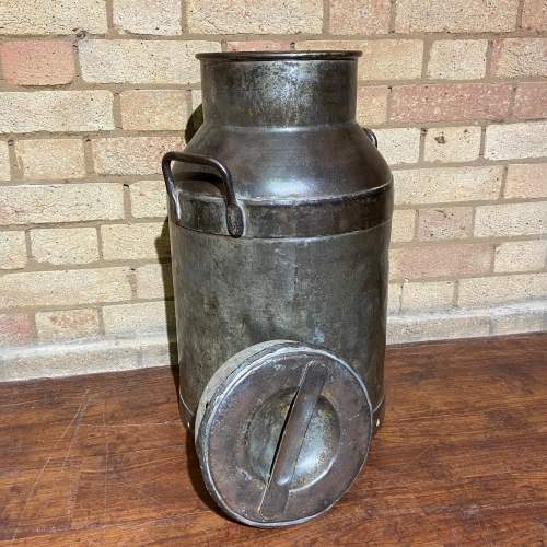 Large Vintage Milk Churn and Lid image-2