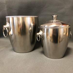 French Champagne Ice Bucket Set