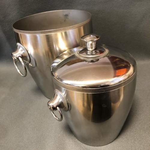 French Champagne Ice Bucket Set image-6