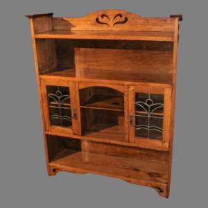 Arts and Craft Medium Oak Bookcase