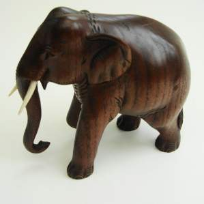 Burmese Teak Elephant
