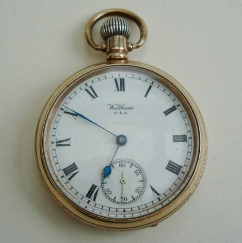 Waltham Open Face Pocket Watch image-1