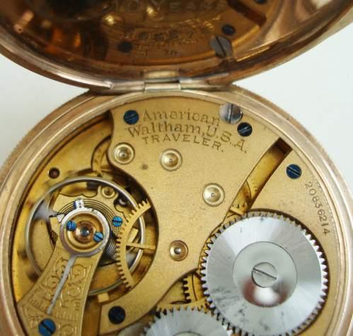 Waltham Open Face Pocket Watch image-2